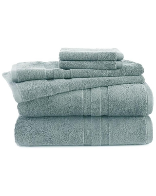 Mineral Cotton Bath Towel Set Martex Purity Towel Polyester 079465050707 - westpoint home