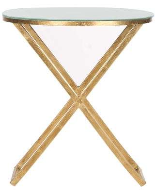 Riona Round Top End Table - safavieh