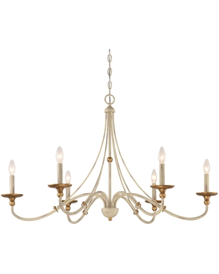 Westchester County 40 Inch 6 Light Chandelier Westchester County 1046 701 Transitional - minka lavery