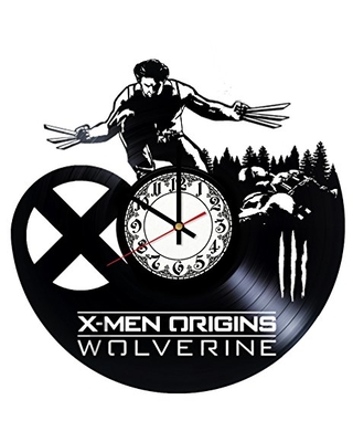 The Wolverine X Men Origins Handmade Vinyl Record Wall Clock Get unique room wall decor Gift ideas for his and her - Modern Unique Home Art Design - girls art boutique