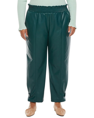 Womens Mid Rise Jogger Pant Plus - ryegrass
