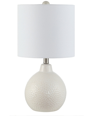 Memphis Led Table Lamp With Cotton Shade - safavieh
