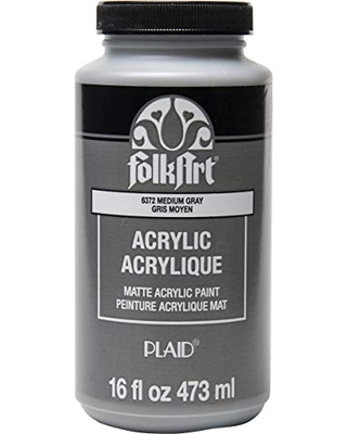 Matte Acrylic Paint in Assorted Colors - folkart