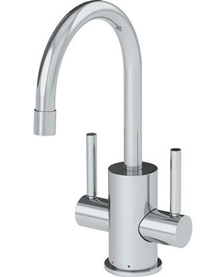 Pescara Collection LB16200 5 GPM Deck Mounted Little Butler Hot and Cold Filtered Faucet in Polished - franke