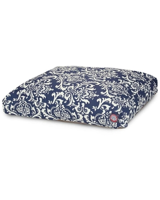 Polyester Rectangular 50 in x 42 in Dog Bed For Large 788995504085 - majestic pet products