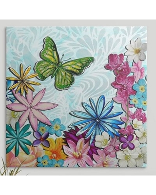 Whimsical Floral Collage' by Megan Duncanson Painting Print - great big canvas
