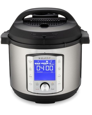 Duo Plus Stainless Steel Electric Pressure Cooker Silver - instant pot