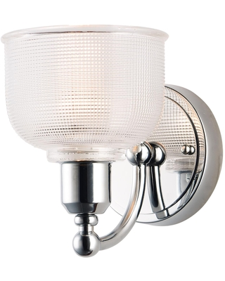 Hollow 8 Inch Wall Sconce Hollow 11321CLPC Transitional - maxim lighting