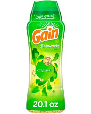 Fireworks Original In Wash Scent Booster Beads - gain
