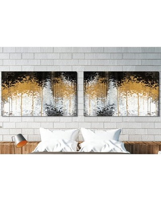 Riches for the World Romans 11 12 2 Piece Panoramic Graphic Art Print Set on Canvas - latitude run