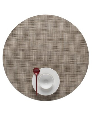 Mini Basketweave Round Placemat - chilewich