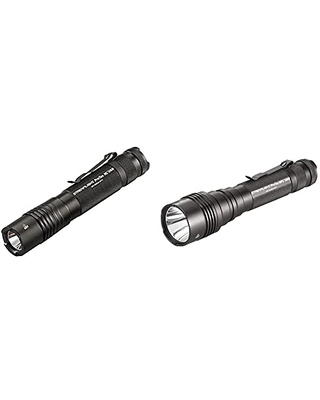 88052 ProTac HL USB 1000 Lumen Professional Tactical Flashlight with High Low Strobe 1000 Lumens & 88077 ProTac HPL USB with USB cord and Box 1000 Lumens - streamlight