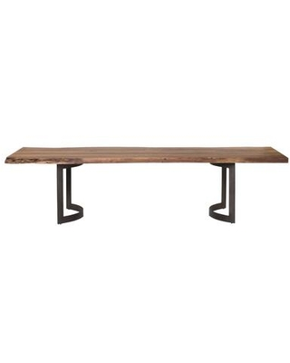 Bent Collection VE 1001 03 Dining Table with Iron Base - moes home collection