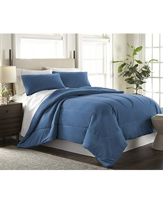 Shavel Reverse to Sherpa Comforter Set King THRSHCMKGUMR - thermee micro flannel