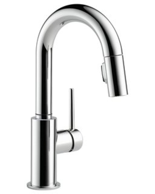Trinsic Pull Down Bar Faucet with MagnaTite(r) and Diamond Seal Technology - delta