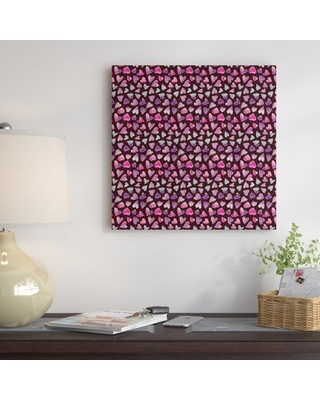 Hearts' Graphic Art Print on Canvas - east urban home