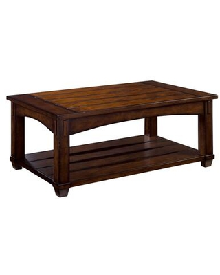 Tacoma Collection 049 910 RECTANGULAR LIFT TOP COCKTAIL TABLE in Rustic - hammary