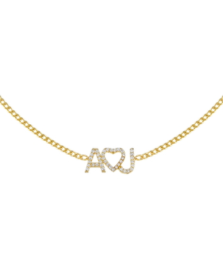 Pave Heart Personalized Nameplate Choker Necklace at Nordstrom - adina's jewels
