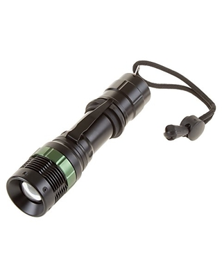 Tactical Flashlight Military Grade Water Resistant Handheld 3 Modes with Zoomable Lens For Self Defense Hiking Camping Hunting by - stalwart
