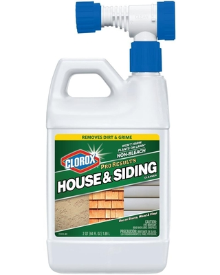 64 fl oz House and Siding Outdoor Cleaner 4460031622 - clorox
