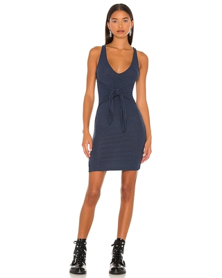 Lovers and Friends Bari Dress in Navy. - size XS (also in L, M, S)