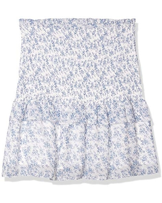 Sugarlips Women's Stop and Stare Floral Smocked Skirt - sugar lips