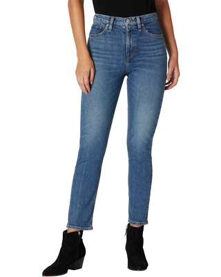 Holly High Waist Crop Straight Leg Jeans at Nordstrom - hudson jeans