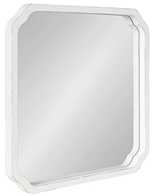 Marston Wood Framed Wall Mirror 24x24 - kate and laurel