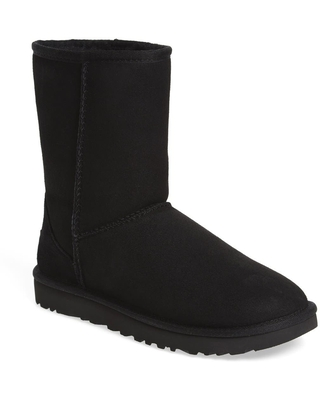 UGG R Classic II Genuine Shearling Lined Short Boot Size 12 Suede at Nordstrom - uggr