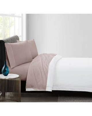 400 Thread Count 100% Cotton Percale Sheet Set - vince camuto