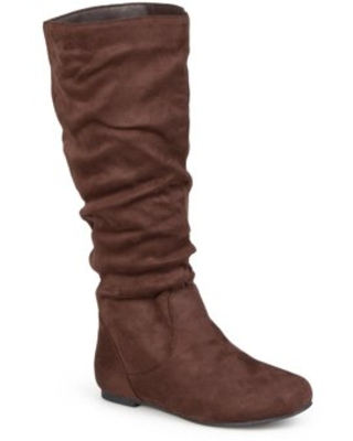 Brinley Co Slouchy Microsuede Boots Women's - brinley co.