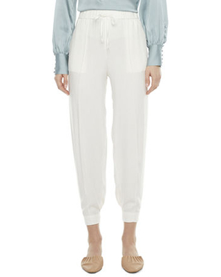 Womens Mid Rise Luxe Jogger Pant - ryegrass