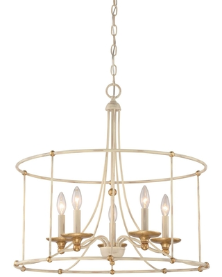 Westchester County 25 Inch 5 Light Chandelier Westchester County 1047 701 Transitional - minka lavery