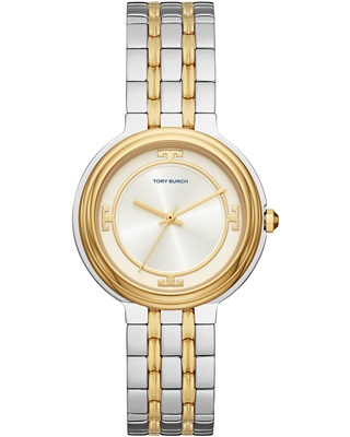The Bailey Two Tone Bracelet Watch at Nordstrom - tory burch