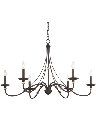 Westchester County 40 Inch 6 Light Chandelier Westchester County 1046 677 Transitional - minka lavery