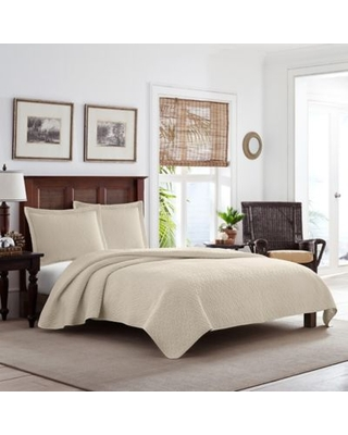 Solid Cotton 3 Piece Quilt Set - tommy bahama