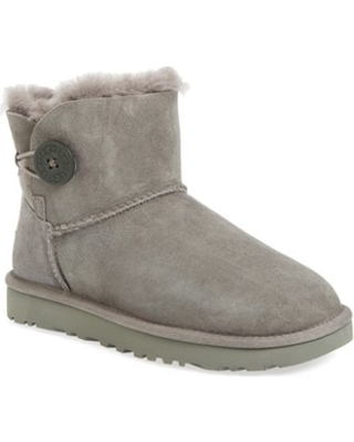 UGG R Mini Bailey Button II Genuine Shearling Boot at Nordstrom - uggr