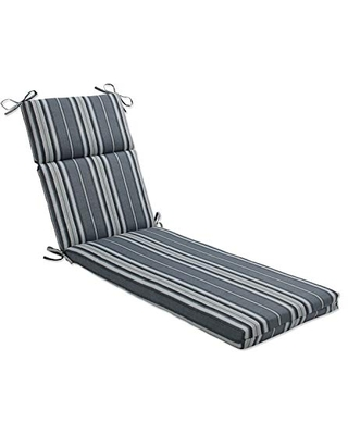 Outdoor Indoor Terrace Noir Chaise Lounge Cushion - pillow perfect