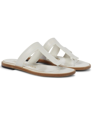 Leather thong sandals - tom ford
