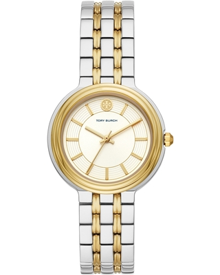 Bailey Bracelet Watch in Silver Cream Silver at Nordstrom - tory burch