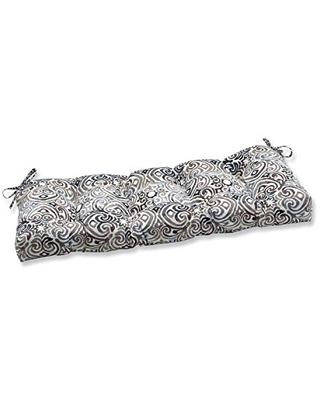 Outdoor Indoor Corinthian Driftwood Tufted Bench Swing Cushion - pillow perfect