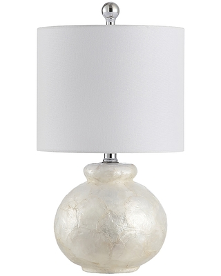 Ivy Led Table Lamp With Cotton Shade - safavieh