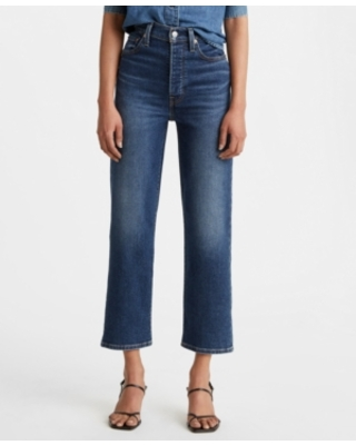 Women's Ribcage Straight Ankle Jeans - levi's