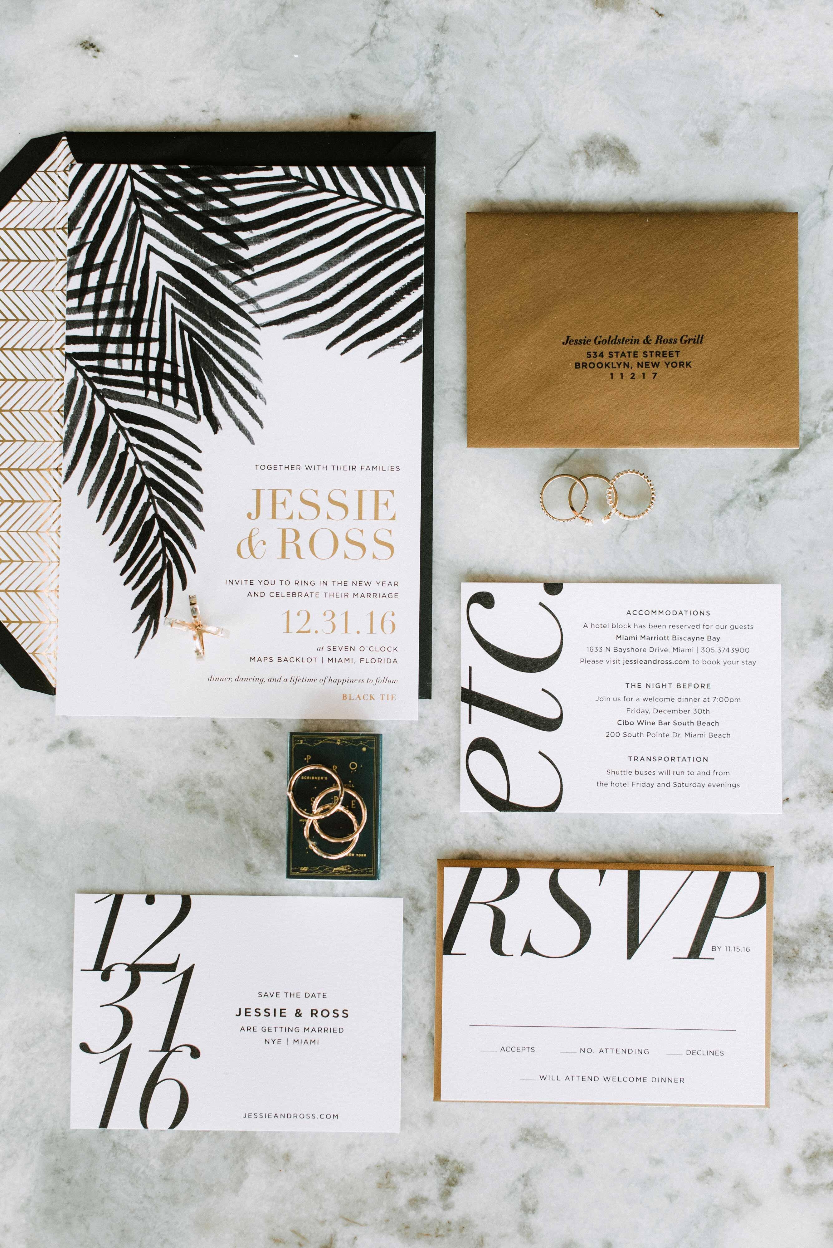 30 Modern Wedding Invitations We Love | Martha Stewart Weddings