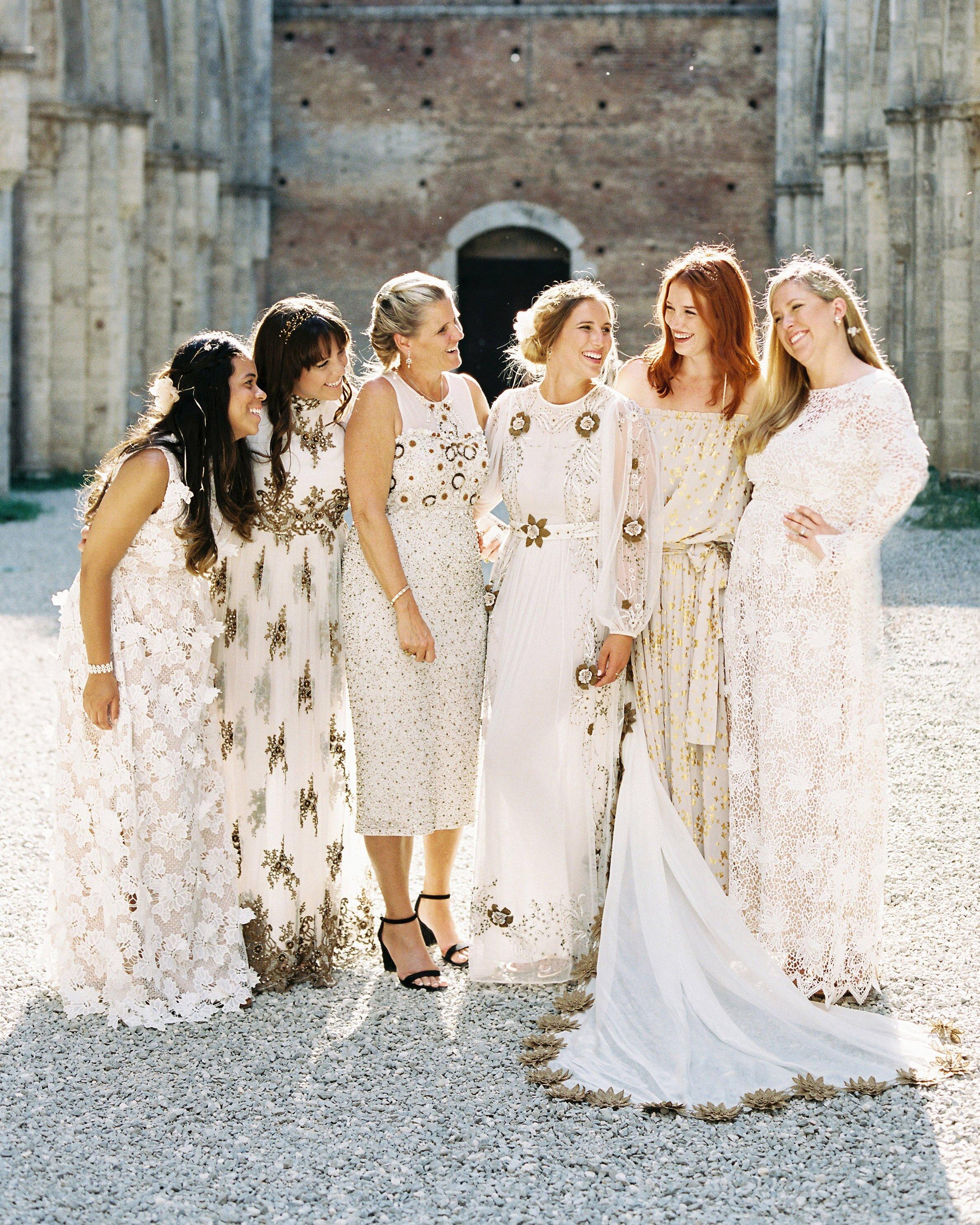 A Super Fashionable Destination Wedding In Italy Martha Stewart
