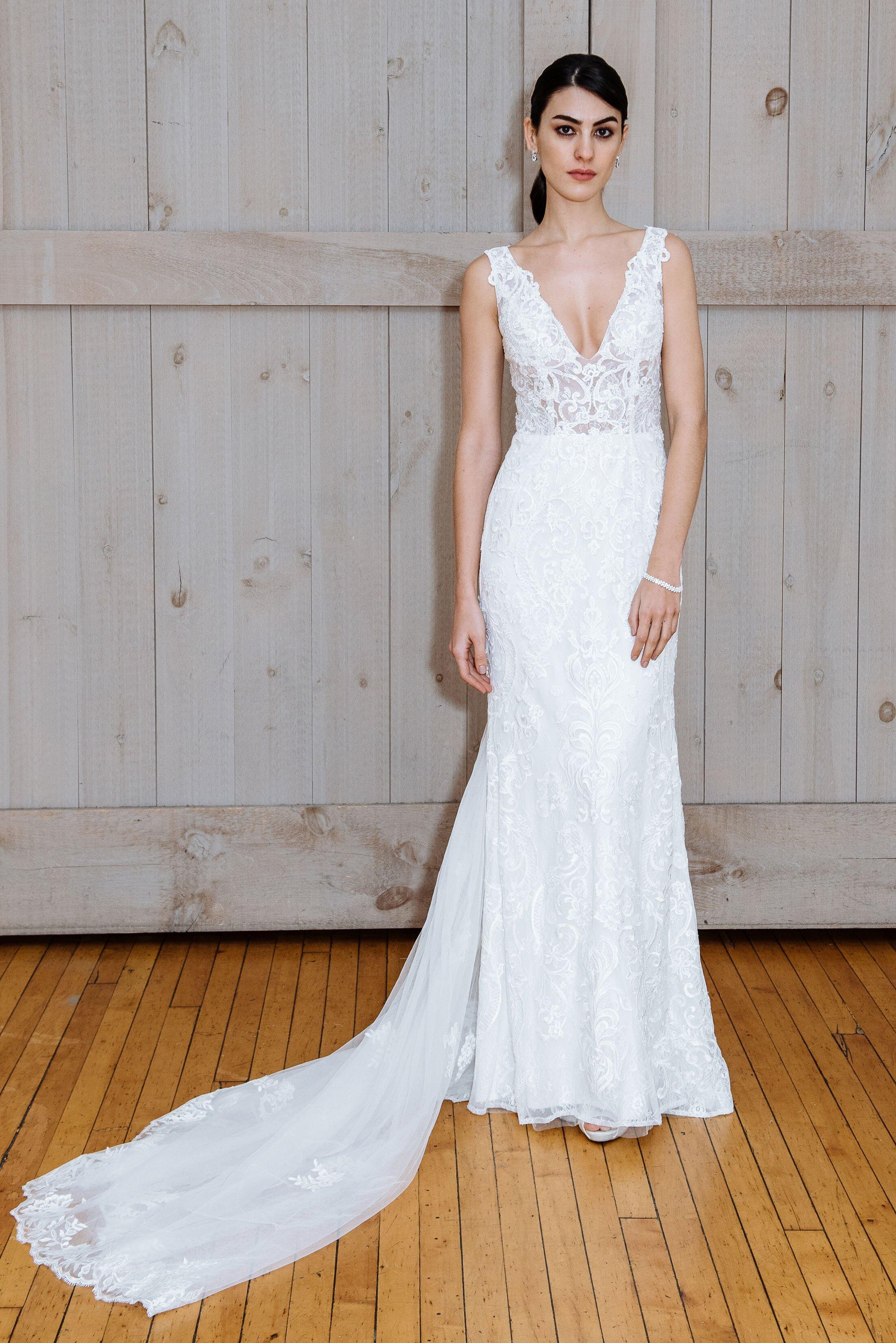 David S Bridal Spring 2018 Wedding Dress Collection Martha