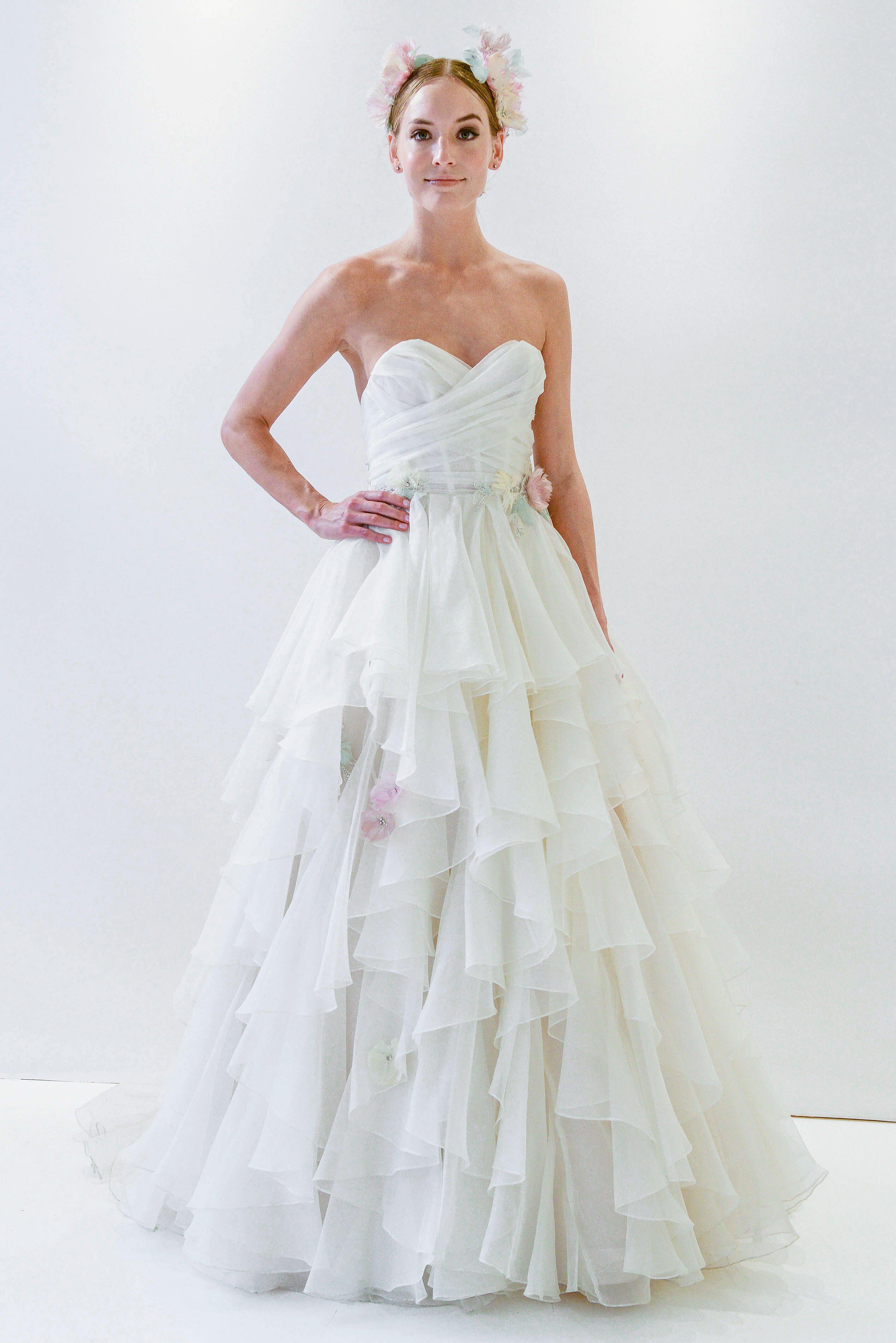 Watters Spring 2018 Wedding Dress Collection Martha Stewart Weddings