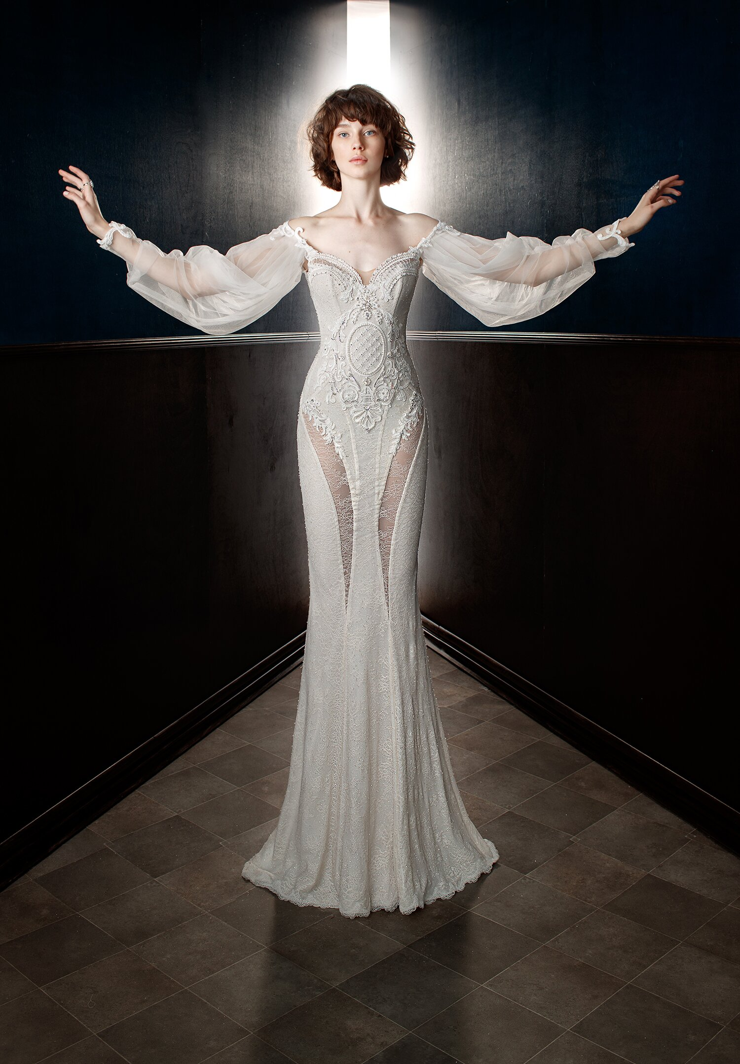 Get A Closer Look At The Wedding Dress Beyonce Wore For Her Vow