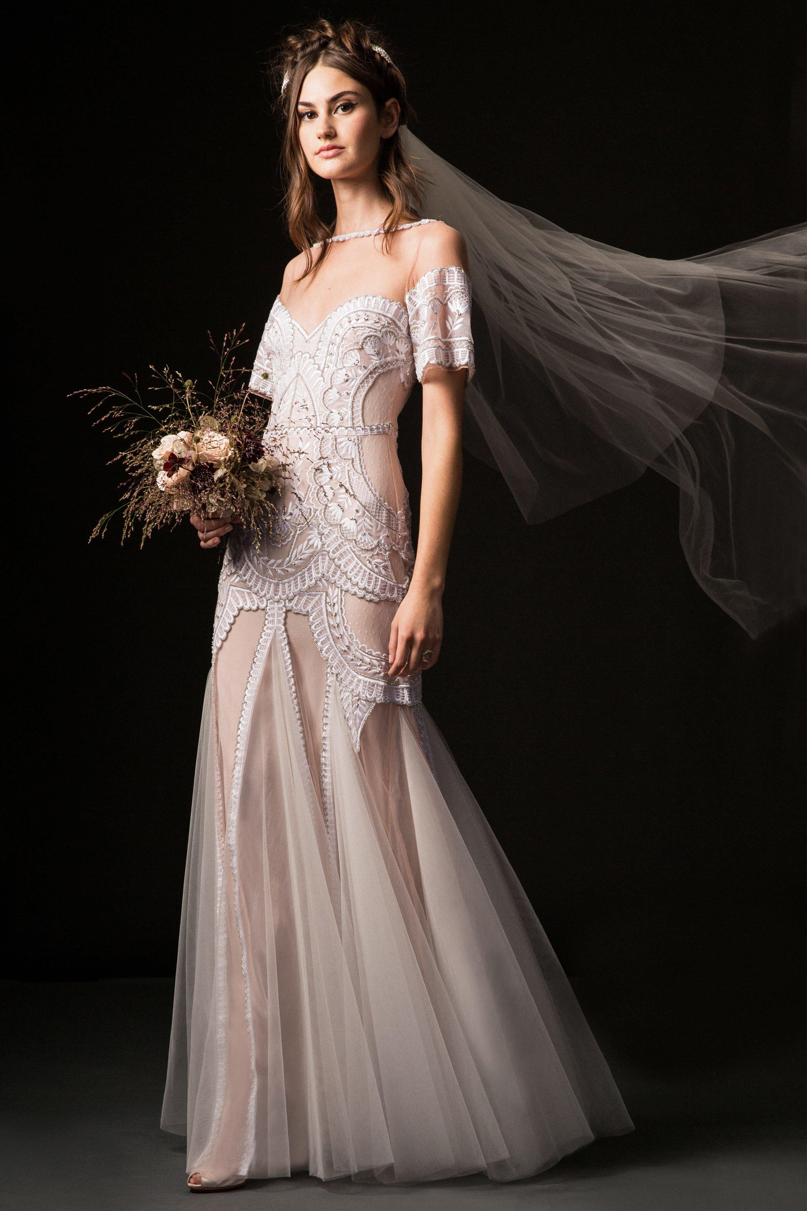 Temperley Fall 2019 Wedding Dress Collection Martha Stewart Weddings
