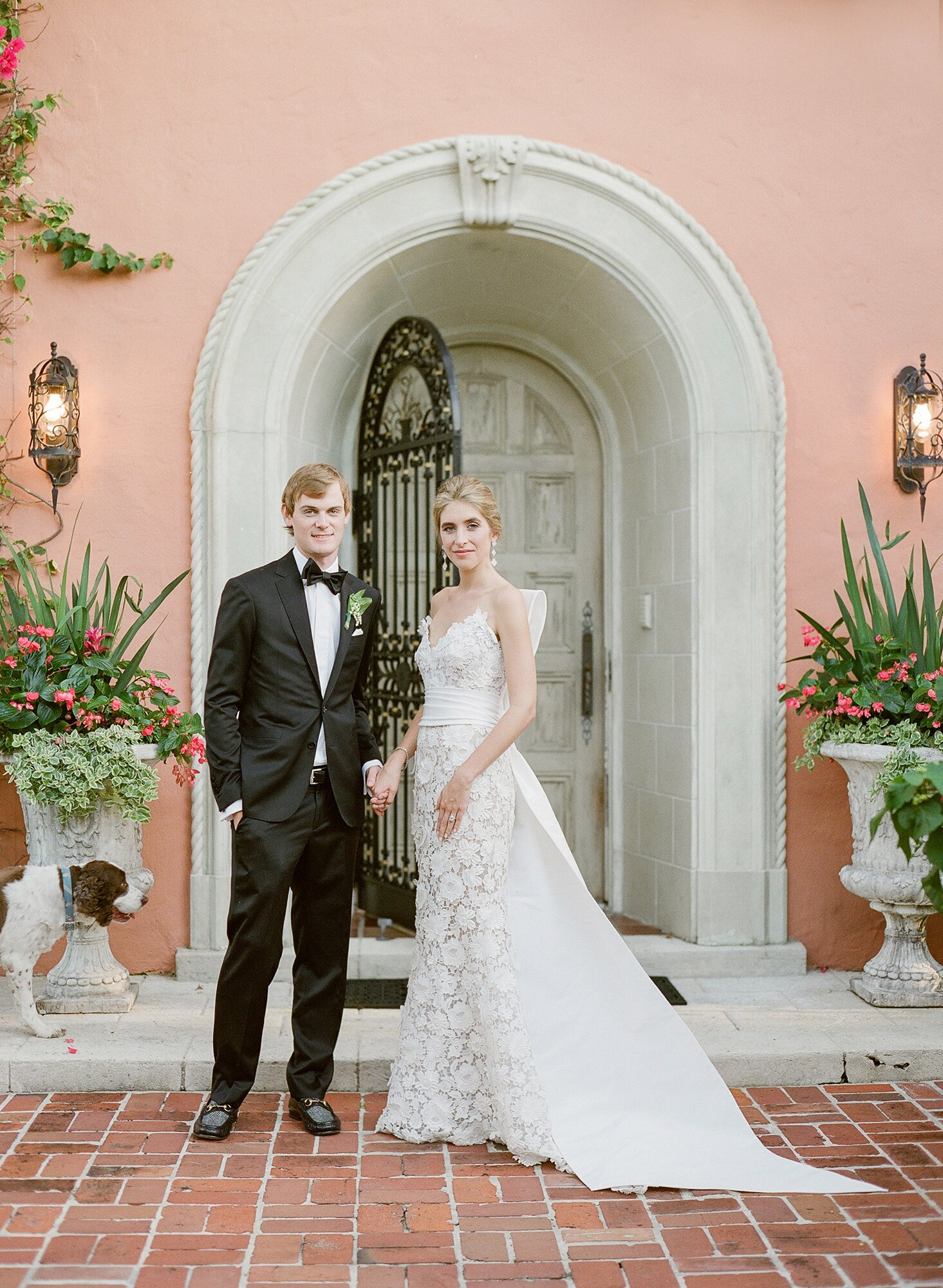 A Timeless Palm Beach Wedding With A Blue And White Color Palette